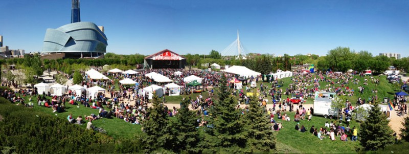 PrideMart at the Forks